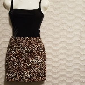 Leapord Skirt